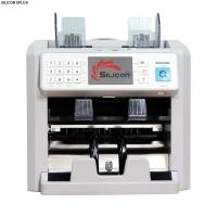 Máy đếm siêu giả và phân loại tiền 2 ngăn Silicon MC-8PLUS